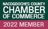 Nacogdoches Chamber of Commerce Member, 2016