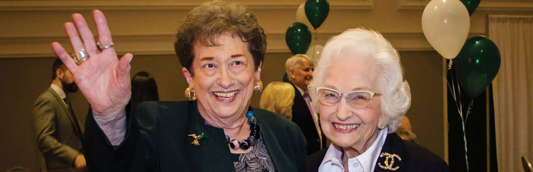 Betty Shinn and Joyce Swearingen are past recipients of the Chamber's Citizen of the Year Award.