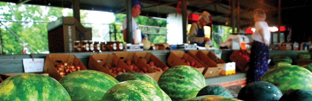 Fresh Produce at Nacogdoches Farmers Market