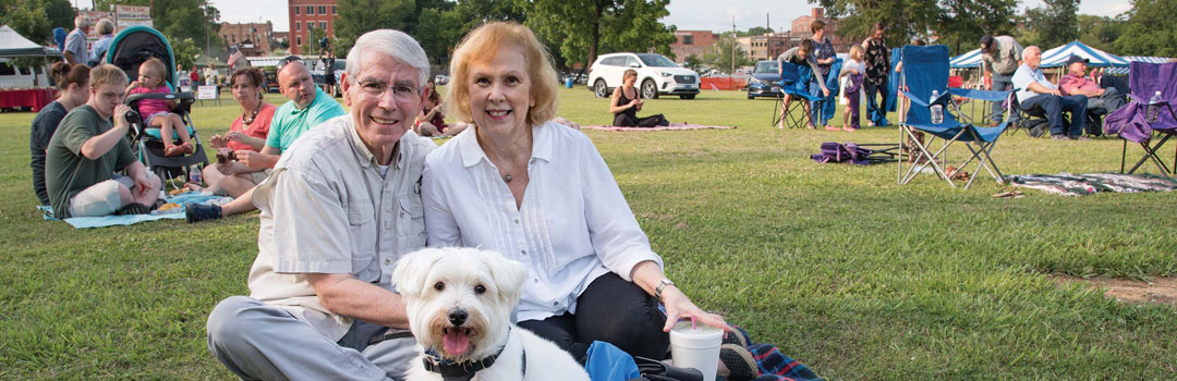 Retirees stay active in Nacogdoches by enjoying many area events.